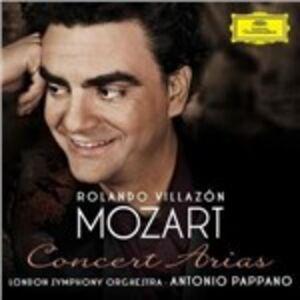 CD Arie da concerto di Wolfgang Amadeus Mozart