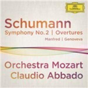 CD Sinfonia n.2 - Ouverture Genoveva di Robert Schumann