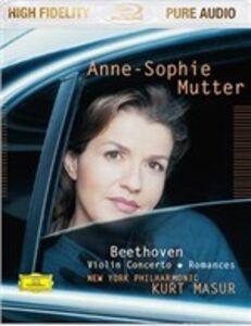 CD Concerto per violino e romanze di Ludwig van Beethoven