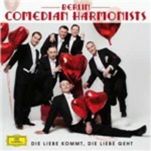 Foto Cover di Die Liebe Kommt, CD di Berlin Comedian Harmonists, prodotto da Deutsche Grammophon