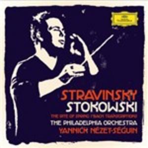 CD Stravinsky - Stokowski Johann Sebastian Bach , Igor Stravinsky