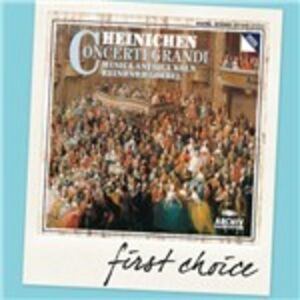 CD Concerti grandi di Johann David Heinichen