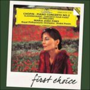 CD Concerto per pianoforte n.2 - 24 Preludi di Fryderyk Franciszek Chopin