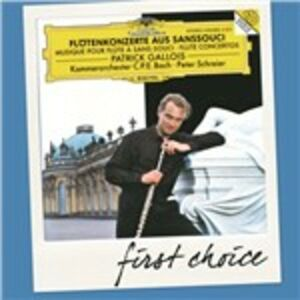 CD Concerti per flauto a Sanssouci