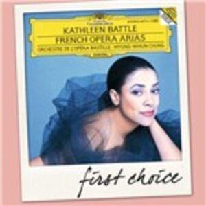 Foto Cover di French Opera Arias, CD di Kathleen Battle,Myung-Whun Chung, prodotto da Deutsche Grammophon