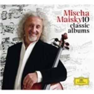 Foto Cover di 10 Classic Albums, CD di Mischa Maisky, prodotto da Deutsche Grammophon