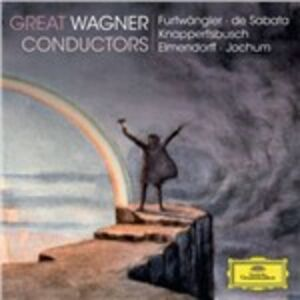 CD Great Wagner Conductors di Richard Wagner