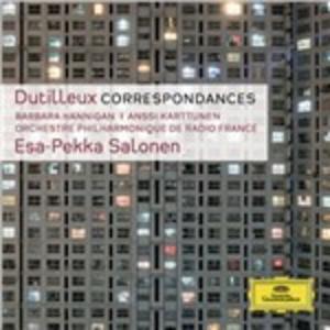 CD Correspondances - Tout un monde lointain - The Shadows of Time di Henri Dutilleux
