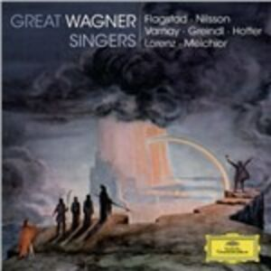 CD Great Wagner Singers di Richard Wagner