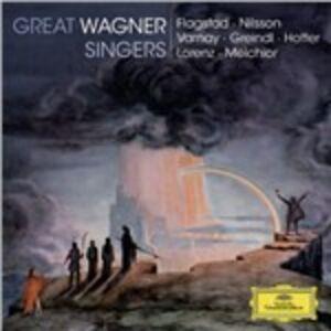 CD Great Wagner Singers di Richard Wagner