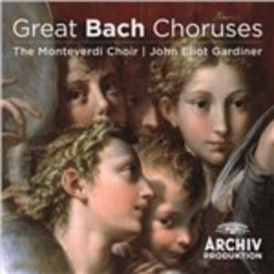 CD Great Bach Choruses di Johann Sebastian Bach