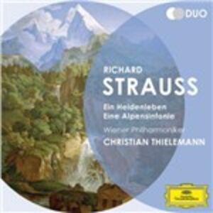 Foto Cover di Vita d'eroe - Sinfonia delle Alpi, CD di AA.VV prodotto da Deutsche Grammophon