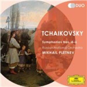 Foto Cover di Sinfonie n.4, n.5, n.6, CD di AA.VV prodotto da Deutsche Grammophon