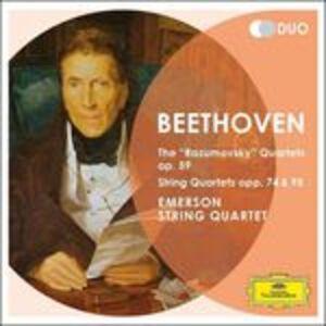 CD Quartetti op.59, op.74, op.95 di Ludwig van Beethoven