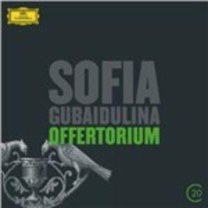 CD Offertorium - Hommage à T.S. Eliot di Sofia Gubaidulina