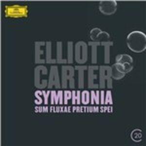 CD Sinfonia Sum Fluxae Pretium Spei - Concerto per clarinetto di Elliott Carter