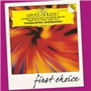 CD Bolero - La Valse - Daphnis et Chloé. Suite n.2 di Maurice Ravel