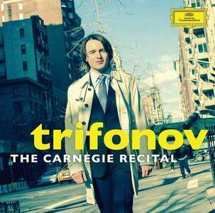 Foto Cover di The Carnegie Recital, CD di Daniil Trifonov, prodotto da Deutsche Grammophon