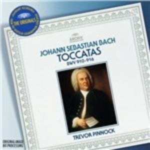 CD Toccate BWV 910-916 di Johann Sebastian Bach