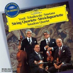 CD Quartetti per archi Bedrich Smetana , Pyotr Il'yich Tchaikovsky , Giuseppe Verdi