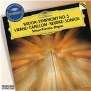 CD Sinfonia per organo / Carillon de Westminster / Sonata sul 94° Salmo Charles-Marie Widor , Julius Reubke , Louis Vierne