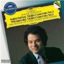 Concerto per violino n.3 / Concerto per violino n.2 - CD Audio di Camille Saint-Saëns,Henryk Wieniawski,Itzhak Perlman,Orchestre de Paris,Daniel Barenboim