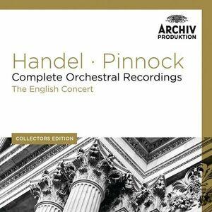 CD Musiche per orchestra complete di Georg Friedrich Händel