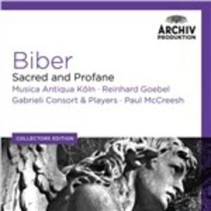 CD Sacro e profano Heinrich Ignaz Franz Von Biber , Carl Heinrich Von Biber