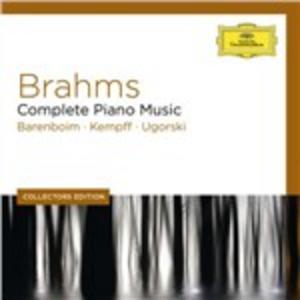 CD Musiche complete per pianoforte solo di Johannes Brahms