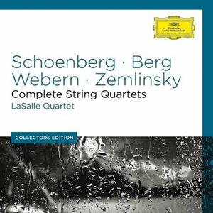 CD Quartetti completi Alban Berg , Arnold Schönberg , Anton Webern , Alexander Von Zemlinsky