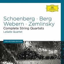 Quartetti completi - CD Audio di Alban Berg,Arnold Schönberg,Anton Webern,Alexander Von Zemlinsky,LaSalle Quartet