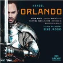 Orlando - CD Audio di Georg Friedrich Händel,René Jacobs,Sophie Karthäuser,Bejun Mehta,B'Rock Orchestra Ghent