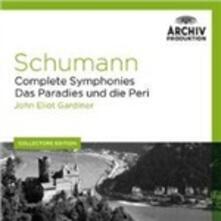 Sinfonie complete - CD Audio di Robert Schumann,John Eliot Gardiner,Orchestre Révolutionnaire et Romantique