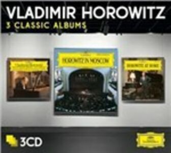 CD Studio Recordings New York 1985 - Horowitz in Moscow - Horowitz at Home