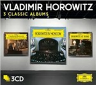 CD Studio Recordings New York 1985 - Horowitz in Moscow - Horowitz at Home