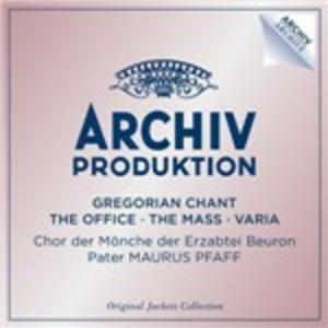 CD Canto Gregoriano. Ufficio, canti della messa, esequie