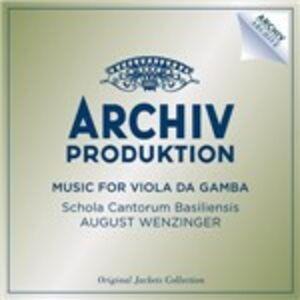 CD Musiche per viola da gamba