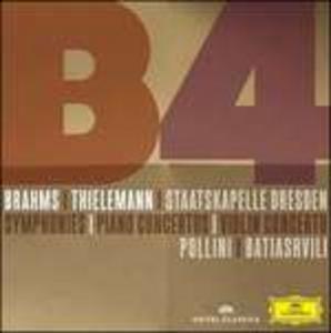 CD Sinfonie - Concerti per pianoforte - Concerto per violino di Johannes Brahms