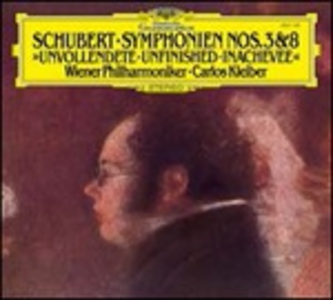 Vinile Sinfonie n.3 e n.8 Franz Schubert