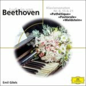 CD Sonate per Pianoforte N.8, N.15, N.21 di Ludwig van Beethoven