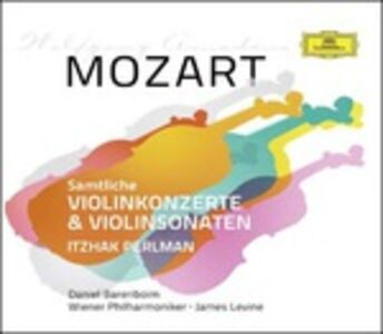 CD Concerti per violino completi - Sonate per violino complete di Wolfgang Amadeus Mozart