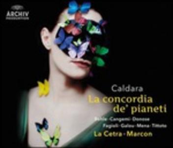 CD La concordia de' pianeti di Antonio Caldara