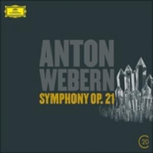 CD Sinfonia op.21 di Anton Webern