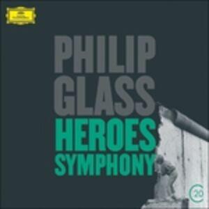 CD Heroes Symphony di Philip Glass
