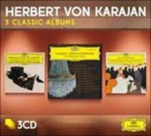 3 Classic Albums-Intermezz - CD Audio di Charles Gounod,Jacques Offenbach,Herbert Von Karajan