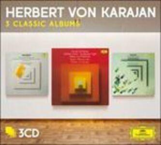 Foto Cover di 3 Classic Albums, CD di Arnold Schönberg,Herbert Von Karajan, prodotto da Deutsche Grammophon