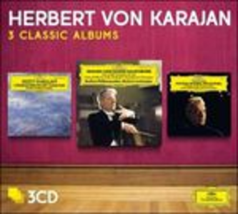 CD 3 Classic Albums Georges Bizet , Wolfgang Amadeus Mozart , Sergei Sergeevic Prokofiev , Ottorino Respighi
