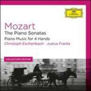 CD Sonate per pianoforte - Musica per pianoforte a 4 mani di Wolfgang Amadeus Mozart