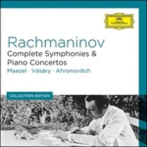 CD Sinfonie - Concerti per pianoforte di Sergei Vasilevich Rachmaninov