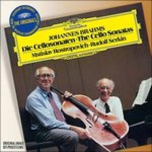 CD Sonate per violoncello op.38, op.100 di Johannes Brahms